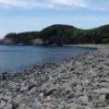 【相島】島随一の観光スポット 長井の浜の景色を見てきた[積石塚古墳]
