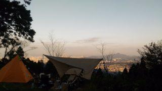【篠栗】福岡市近郊の無料オートキャンプ場、若杉楽園キャンプ場