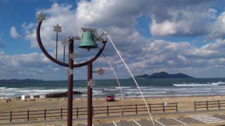 【宗像】冬の玄界灘絶景スポット北斗の水汲み公園へドライブ