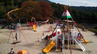 【太宰府】梅林アスレチックスポーツ公園-リニューアルでさらに遊具充実