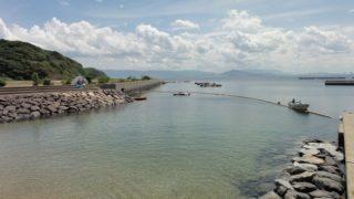 【相島】あいのしまで海水浴。と、シーカヤックを存分に楽しんできた。