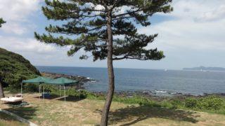 【唐津】リニューアルした波戸岬キャンプ場のオススメはフリーサイト。けど料金がちょっと高い。