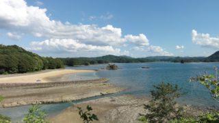 【唐津】いろは島の海水浴場は綺麗、人が少ない、温泉隣接でかなりおススメ