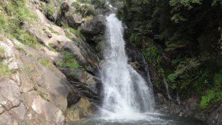 【唐津 相知】滝百選「見帰りの滝」を散策、川遊び場も発見