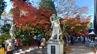 【篠栗】呑山観音のもみじが紅葉真っ盛り、渋滞もハンパなかった